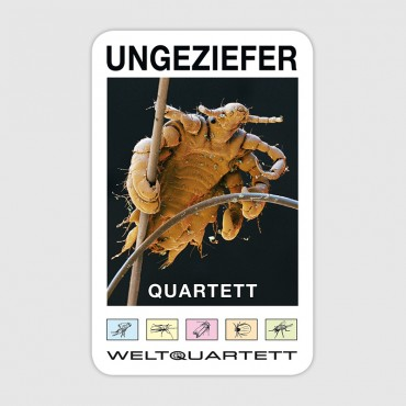 Ungeziefer-Quartett (German language)