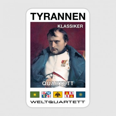 Tyrannen-Quartett (German language)