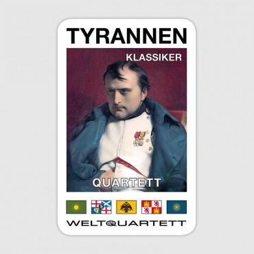 Tyrannen-Quartett