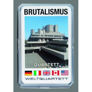 BRUTALISMUS-QUARTETT