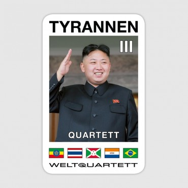 Tyrannen-Quartett II (German language)
