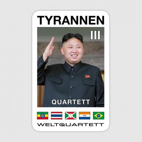 Tyrannen-Quartett III