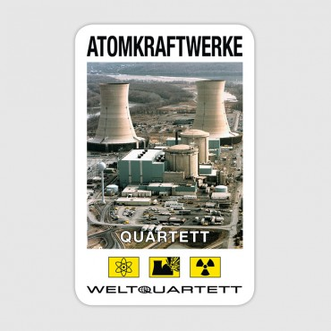 Atomkraftwerke-Quartett (German language)